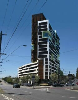 Apartment and Commercial Development in Ascot Vale Road, Flemington